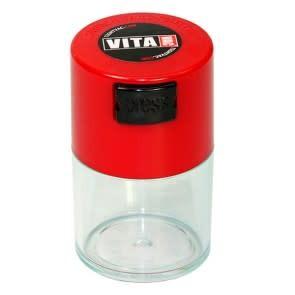 VitaVac 0.06 liter Red Cap/Clear Body