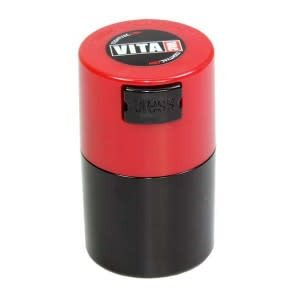 VitaVac 0.06 liter Red Cap/Black Body