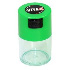 VitaVac 0.06 liter Green Cap/Clear Body