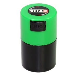 VitaVac 0.06 liter Green Cap/Black Body