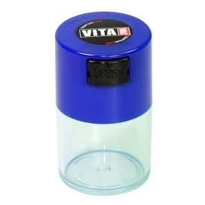 VitaVac 0.06 liter Dark Blue Cap/Clear Body