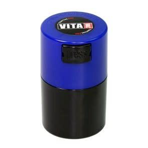 VitaVac 0.06 liter Dark Blue Cap/Black Body