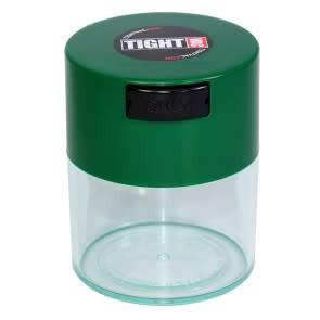 Tightvac 0.29 liter Forest Green Cap/Clear Body