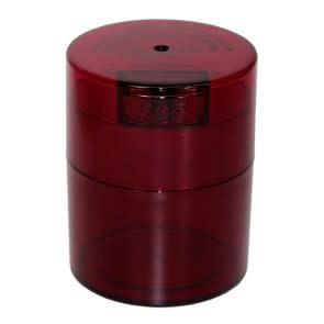 Tightvac 0.29 liter Red Tint Cap/Red Tint Body