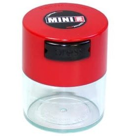MiniVac 0.12 liter Red Cap/Clear Body
