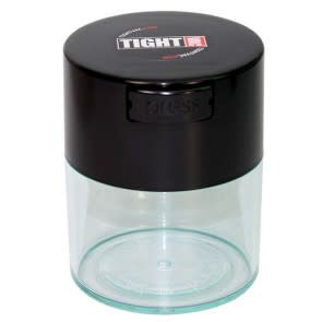 Tightvac 0.29 liter Black Cap/Clear Body