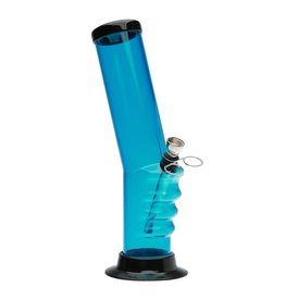 """12"""" x 2"""" Acrylic Waterpipe with Grip"""