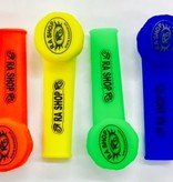 RA SHOP Silicone Hand Pipe Blue