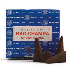 Satya Nag Champa 12pc Cones