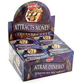 Hem 10pc Cones Attracts Money