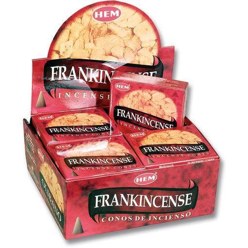 Hem 10pc Cones Frankincense