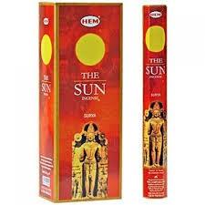 Hem 20g Incense Sun