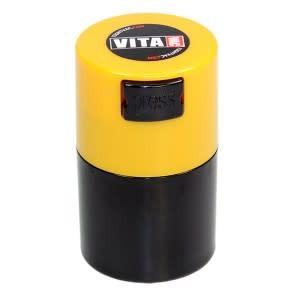 VitaVac 0.06 liter Yellow Cap/Black Body