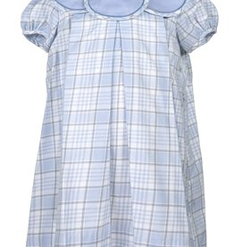 Sophie & Lucas Snowy Plaid Petal Dress
