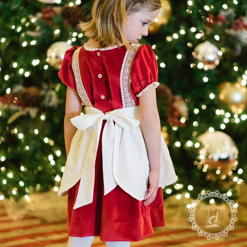 Dondolo Apron Christmas Village