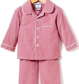 Petite Plume Red Gingham Pajamas