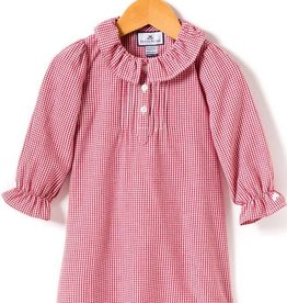 Petite Plume Red Gingham Nightgown