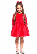 Smiling Button Cherry Red Velvet Winnie