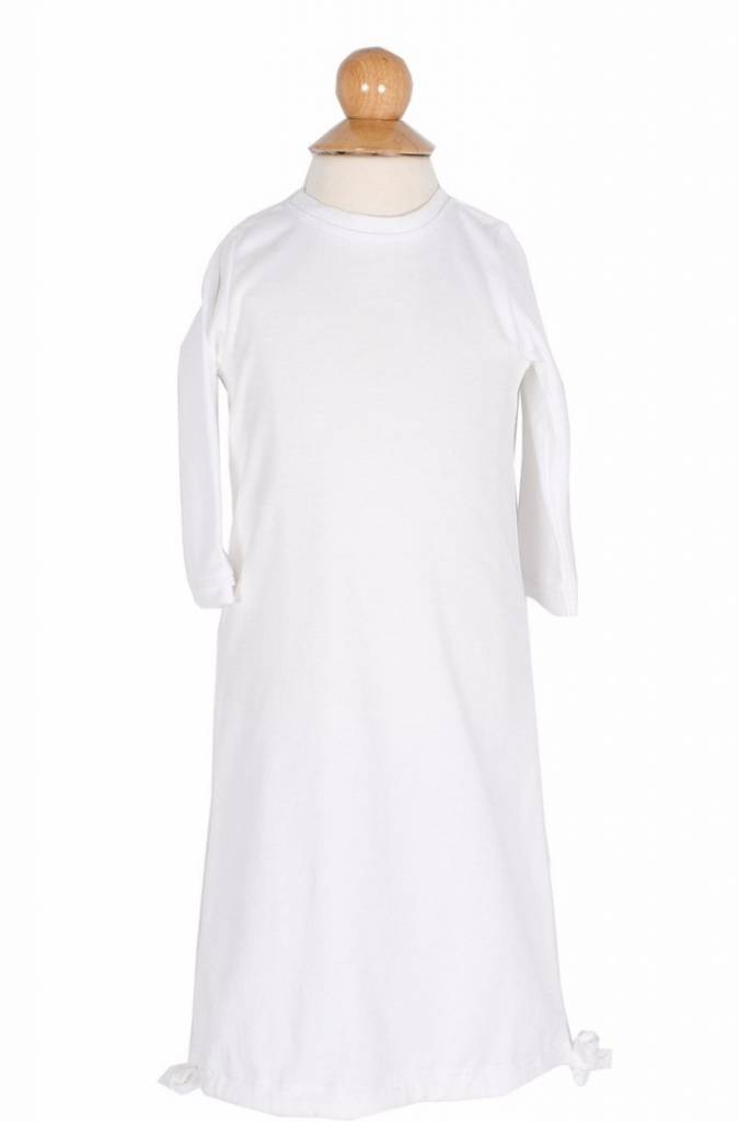 Lila & Hayes George White & Blue Daygown