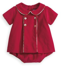 Bella Bliss Red Hensley Diaper Set