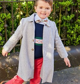 Bella Bliss Camel Wool Dress Coat