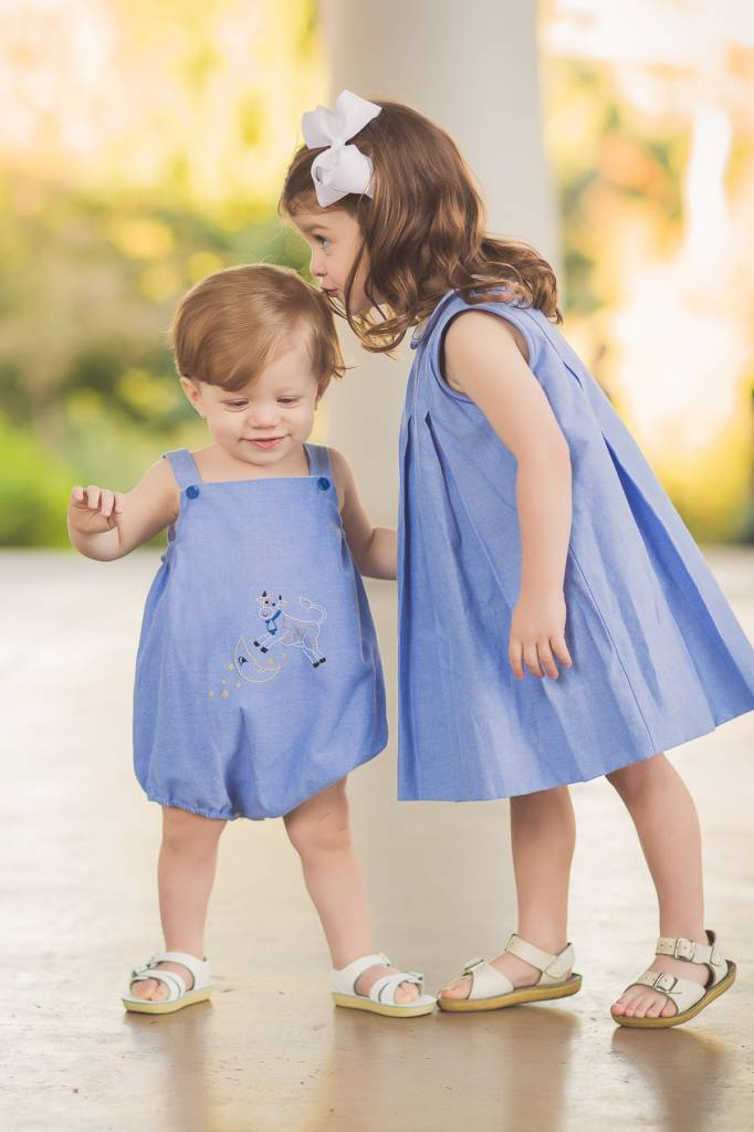 The Proper Peony Hey Diddle Sunsuit