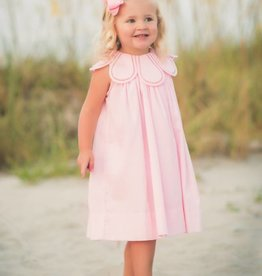 The Proper Peony Blush Pink Tulip Dress