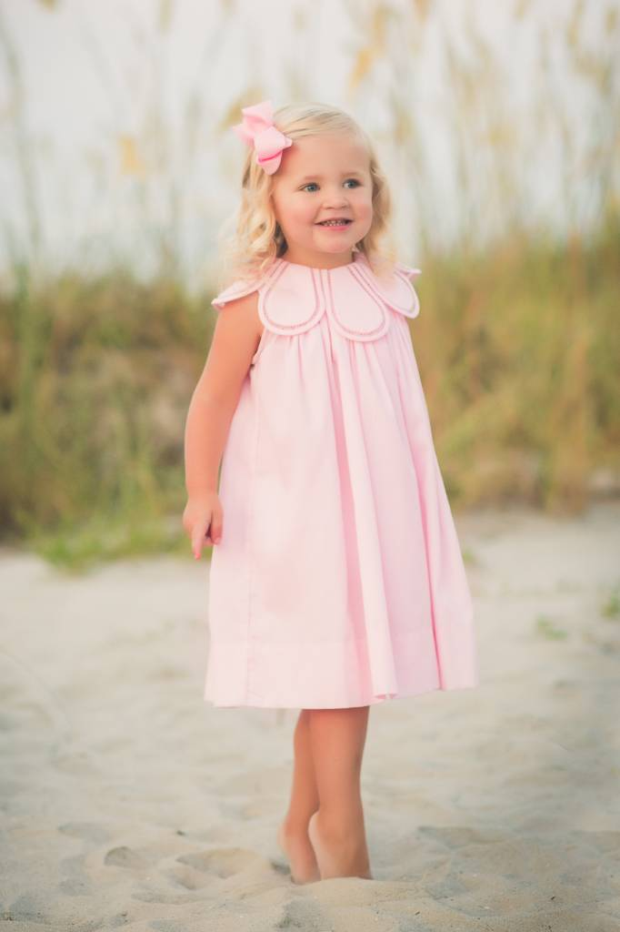 The Proper Peony Blush Pink Tulip Dress