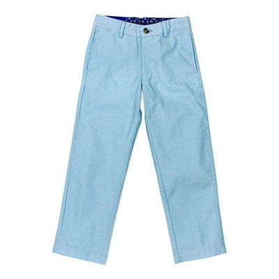 J Bailey Ice Blue Twill Pants
