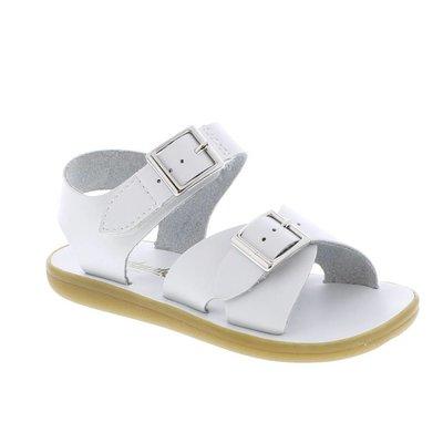 Footmates Velcro Tide White