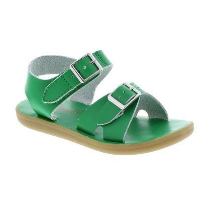 Footmates Velcro Tide Kelly Green