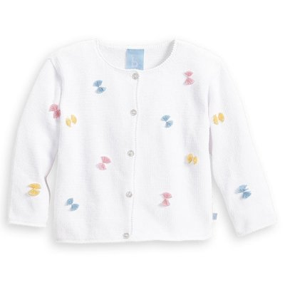 Bella Bliss Plumeti Cardigan Pastel