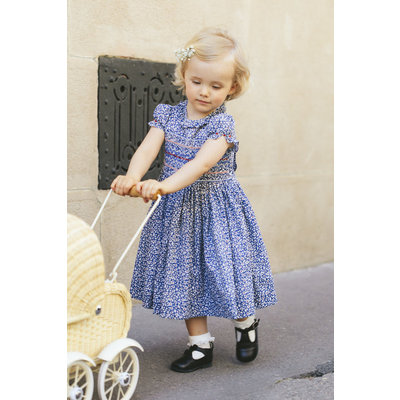 Antoinette Paris Violette Blue Dress