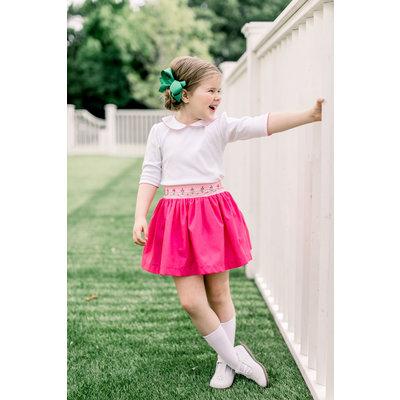 The Proper Peony Knit Shirt Pink