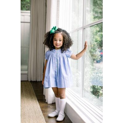 The Proper Peony Stella Blue Chambray Dress