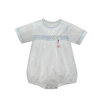 Lullaby Set Blue Birthday Smock Bubble