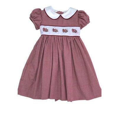 Rose Smock Gamecocks Dress