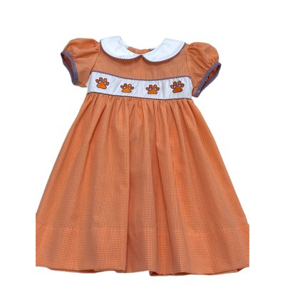 Rose Smock Tigers Dress