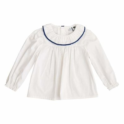 Busy Bees Vandy Ruffle Collar Blouse