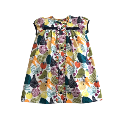 LeZaMe Aden Dress Veggies Dress