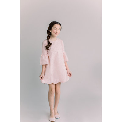 Dondolo Abby Girl Dress Light Pink