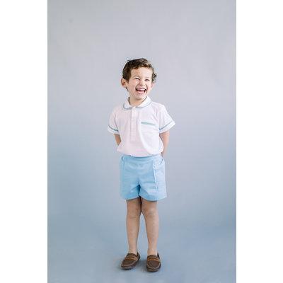 Dondolo Charlie Set Blue & White