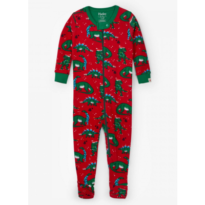 Hatley Festive Dinos Coverall