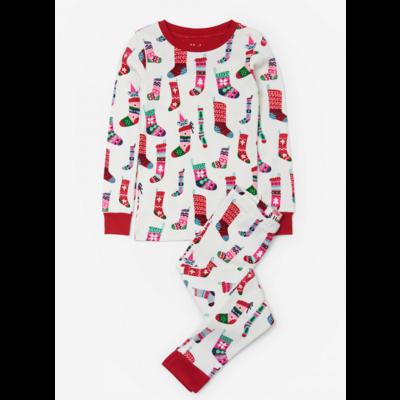 Hatley Holiday Stockings Pajama Set