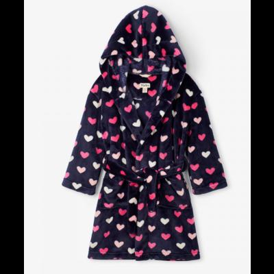 Hatley Lovely Hearts Fleece Robe