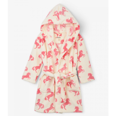 Hatley Horses Fleece Robe