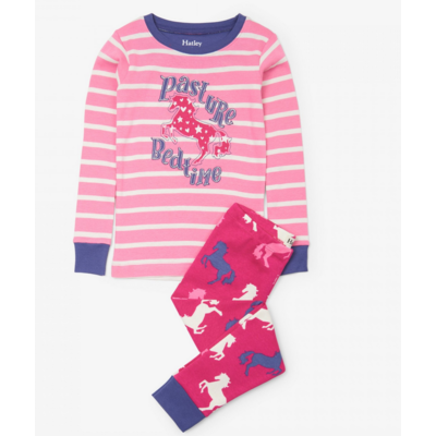 Hatley Horses Applique Pajama Set