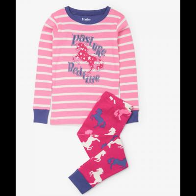 Hatley Horses Applique Pajama Set