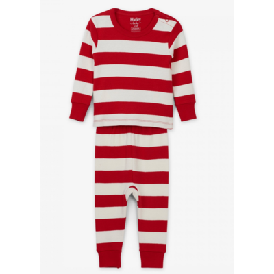 Hatley Candy Cane Pajama Set