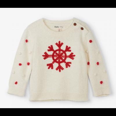 Hatley Snowflake Pom Pom Sweater